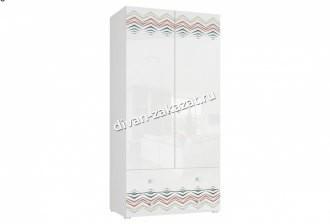 Шкаф 2-х дверный с ящиками Модерн - Абрис