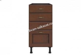 Эмилия шкаф напольный с 4 ящиками