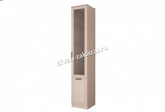 Шкаф со стеклянной дверью Орион