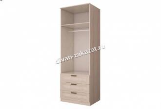 Шкаф 2-х дверный с ящиками и зеркалами Орион