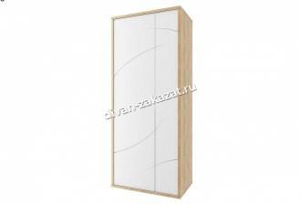 Мадейра СТЛ.264.06 Шкаф 2-х дв. Дуб небраска/Белый глянец