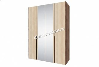 Шкаф 4-х дверный с зеркалом Ребекка СТЛ.186.01