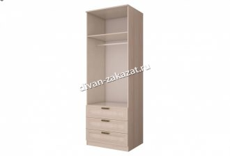 Шкаф 2-х дверный с ящиками Орион