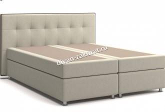 Кровать Николетт Box Spring (с матрасом), независимый пружинный блок