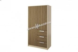 Шкаф 2-х дверный с ящиками Мика СТЛ.112.02