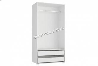 Шкаф 2-х дверный с ящиками Модерн - Техно