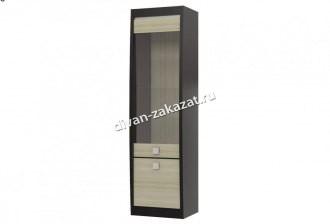 Шкаф 2-х дверный со стеклом Ксено СТЛ.078.04