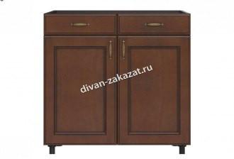 Эмилия шкаф напольный 2 ящика + 2 двери