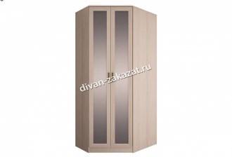 Шкаф угловой левый с зеркалами Орион
