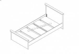 Кровать Тифани СТЛ.305.04